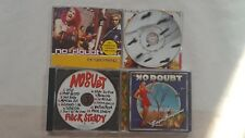NO DOUBT GWEN STEFANI 4 CD LOT: KINGDOM-ROCK STEADY-LOVE ANGEL-EX GIRLFIEND