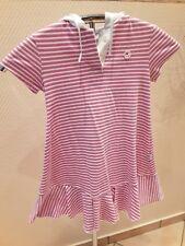 Toff Togs Mädchen Design Sommer Zipfel Kapuze Shirt Kleid Gr.128 Glitzer&Glamour
