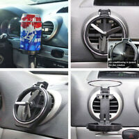 Car Truck Wind Air Outlet Folding Cup Bracket Bottle Drink Holders For Car joCA