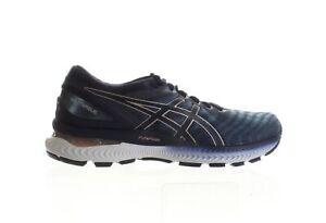 ASICS Womens Gel-Nimbus 22 Grey Floss/Peacoat Running Shoes Size 9 (1795366)
