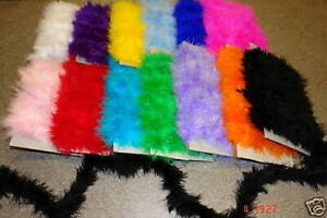 Marabou trimmings Swansdown Feather  Craft Fluffy & Soft