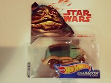 2017-Hot Wheels-Star Wars Character Cars-Jabba The Hutt-Die-Cast-1:64-Boys-3+