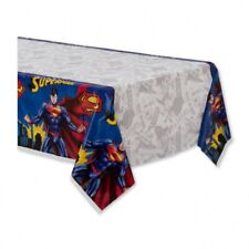 Superman Plastic Table Covers Tablecloth Party Birthday Cover Table Decoration