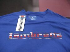 MENS Lambretta Logo UNION PRINT Blue T Shirt Size Extra Large  XL  NWT