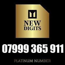 GOLD VIP DIAMOND PLATINUM UNIQUE BUSINESS MOBILE PHONE NUMBER SIM CARD 999