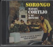 FANIA Mega RARE CD First Pressing RAFAEL CORTIJO Sorongo QUE ES LO Q TIENE NEGRO