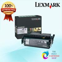 New & Genuine Lexmark 12A6835 High Yield Black Toner Cartridge T520 T522 20K