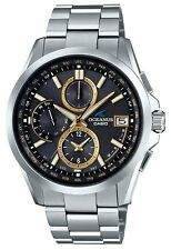 CASIO OCEANUS Classic Line OCW-T2600-1A3JF Men's Watch New in Box