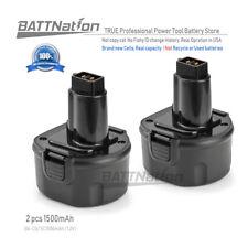 2 NEW 9.6V Battery for DEWALT DE9036 DE9061 DE9062 DW9061 DW9062 9.6 VOLT Drill