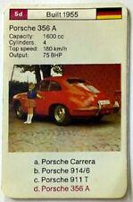 Cuarteto tarjeta individuales-Porsche 356 a-art.nr.558