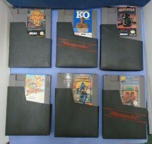 NES Game Cartridge Job Lot