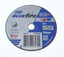 "NORTON BLUEFIRE 3"" x .035"" x 3/8"" CUT-OFF WHEEL 66252843174"