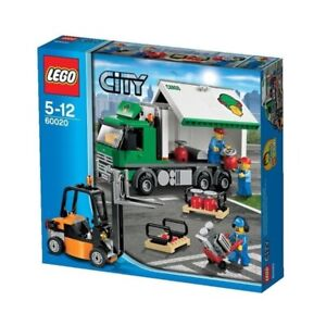 Lego City Town 60020 CARGO TRUCK gas cylinder Airport New Sealed