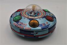 Rare! 1950s T M Toys Japan Space Explorer Ship Spaceship B/O Tin Litho Toy