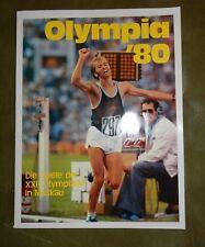 DDR Heft Broschüre Olympia 1980 Moskau Waldemar Cierpinski Teófilo Stevenson