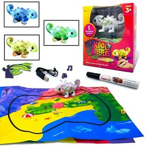 Kool Kreepers - Color Tracer. Mini Inductive + 5 Body Color Changing Chameleon