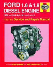 1172 Haynes Ford 1.6 & 1.8 litre Diesel Engine (1984 - 1996) Workshop Manual