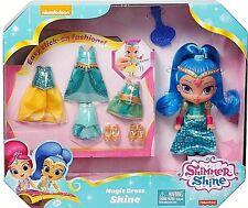 Fisher-Price Nickelodeon Shimmer & Shine, Magic Dress Shine New in Box Perfect