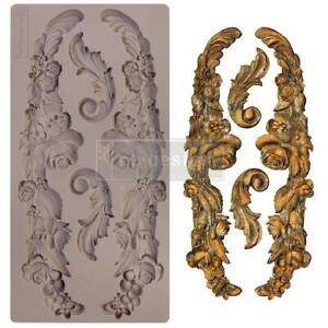 """Prima re·design 5"""" x 8"""" Silicone Mould - Delicate Floral Strands"""
