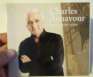 CHARLES AZNAVOUR (2005) ♦ Edition Limitée ♦ INSOLITEMENT VOTRE *lio, cordy, lama