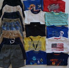 Boys Size 3T Summer Clothes Lot of 18 Items L3-19