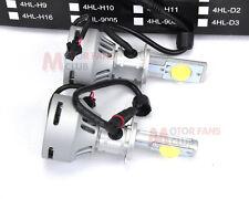 Super Bright 72w 6400lm H7 Cree LED Headlight Conversion Kit Lamp Bulb 6000K
