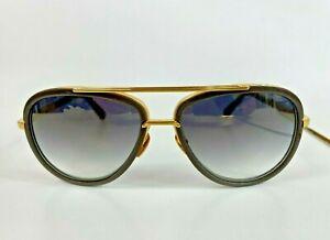 DITA  MACH 2 Titanium Gray Gold Aviator Sunglasses w/ Case DRX2031