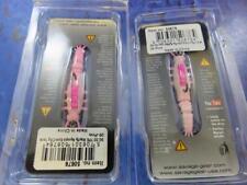2 x savage gear pink TPE MAYFLY NYMPH 5cm 2.5g soft bait fishing lure
