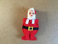 Vintage Christmas Santa Ornament Japan