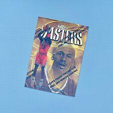 1997-98 Topps Finest Michael Jordan Masters Chicago Bulls Unpeeled MVP GOAT