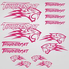Thundercat stickers decal snowmobile arctic cat snowboard quad tuning helmet