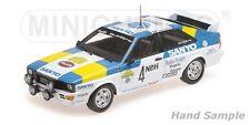 Audi quattro Sport Sweden Blomqvist Winners Swedish Rally 1982 1 18 Model