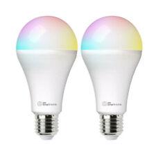2x Laser 10W E27 Smart RGB LED Light Bulb Colour Adjustable WiFi App Control