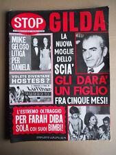 STOP n°1300 1973 Lo Scià Farah Diba Mike Bongiorno Daniela Zuccoli  [G735]