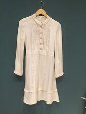 Silk Cream Temperley Dress 8