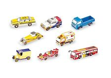 3D Puzzle 8 Auto Autos Oldtimer Rennwagen LKW  *NEU* 122 Teile