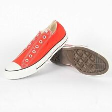Converse Sneakers RED Cherry Tomato Slip - Ons Adults Size Womens 5/ MENS  3