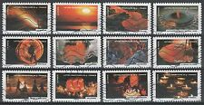 """France 4282-4293 """"Things on Fire"""" [12 USED Stamps] Issued 2012"""