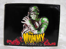 The Mummy Monsters Horror Gothic Decorated Leather Wallet M161