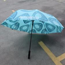 RE ROTARY UMBRELLA! LIGHT BLUE- WANKEL ENGINE ROTOR RX7 RX8 R100 12A 13B 20B