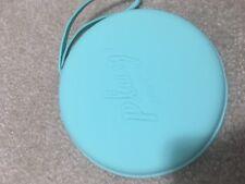 Sephora Play BOX Travel Bag Makeup Hard Case Round Zip-Close strap Handle NEW