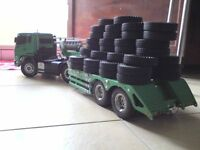Rubber Tires Tyres For Tamiya 1:14 Tractor Truck Trailer Climbing RC Model Car