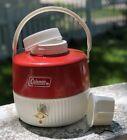 Vintage 70s Water Cooler Jug Coleman 1 Gallon Metal Retro Camping Outdoor Retro