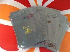 1000 PCS NEW 4'' x 6'' ANTI STATIC SHIELDING ZIPTOP ESD BAGS 3M Brand