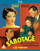 Sabotage Blu-Ray (2015) Sylvia Sidney, Hitchcock (DIR) cert PG ***NEW***