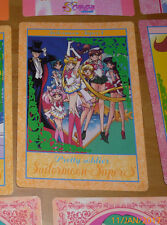 SAILOR MOON SUPER S JUMBO CARDDASS CARD CARTE PRETTY SOLIDER JAPAN ** #017