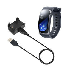USB Charging Cable Cradle Charger Dock For Samsung Gear Fit2 R360 Smart  Watch