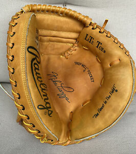 Vintage Rawlings Mike Piazza Men's Leather Catchers Mitt Glove RCM 7 RHT