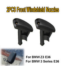 2PCS Fit For BMW 3 Series Z3 E36 Front Windscreen Wiper Washer Jet Nozzle Spray