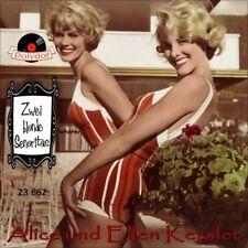 "7"" ALICE UND ELLEN KESSLER ZWILLINGE GEMELLE Zwei blonde Senoritas POLYDOR 1958"